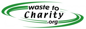 Wastetocharity.org logo
