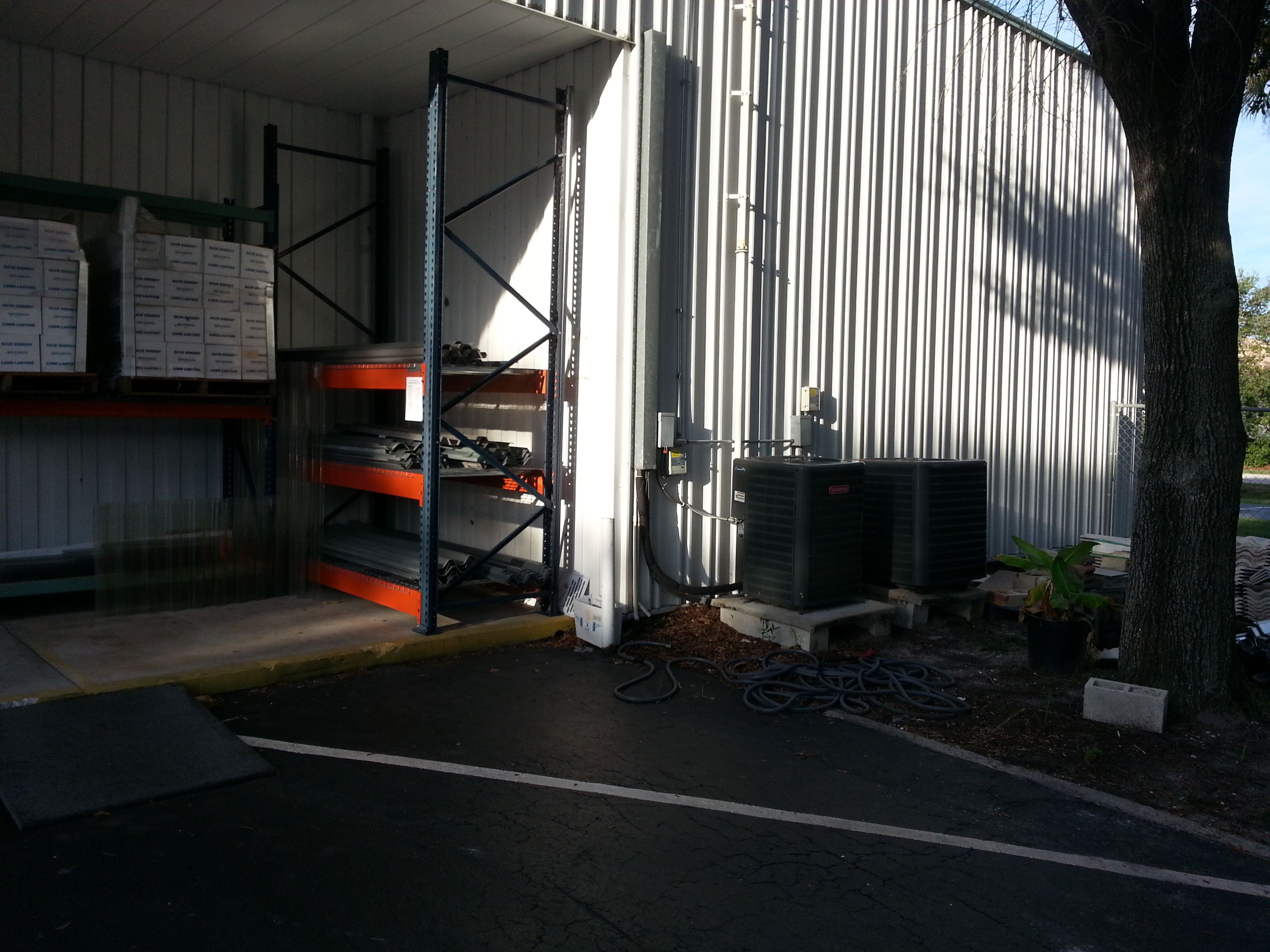 Habitat for Humanity gets needed Ceramic Tile and Inventory racking from Waste to Charity 2014
