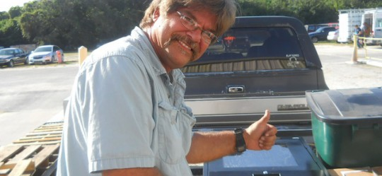 Bill is happy camper!